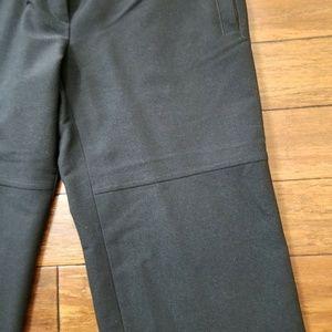 MaxMara Pants & Jumpsuits - MaxMara Weekend Black Wool Blend Wide Leg Pants